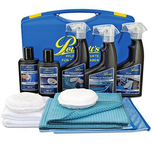 Petzoldts Leder- und Autoinnenraum-Set zur Reinigung & Pflege