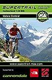 Supertrail Map Valais Central: Maßstab 1:50 000
