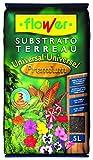 Flower Universal Premium - Substrato,  5L, 24 x 4.5 x 39 cm, color marrón