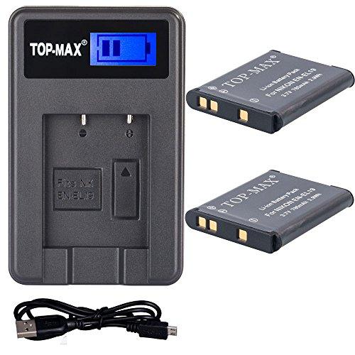 top-maxr-2x-en-el19-enel19-bateria-mh-66-usb-cargador-lcd-para-nikon-coolpix-s100-s2500-s2600-s2700-