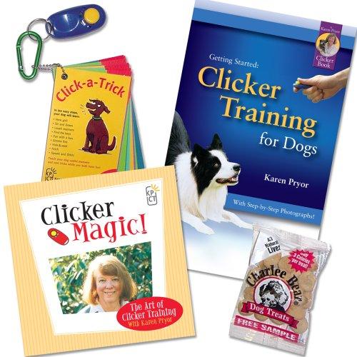 Artikelbild: Karen Pryor, Erste Schritte: Clicker Training Kit für Hunde Plus