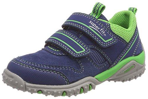 Superfit Jungen SPORT4 Sneaker, Blau (Water Kombi), 33 EU