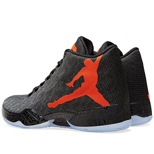 Nike Air Jordan Xx9, espadrilles de basket-ball homme Multicolore - Negro / Naranja / Gris (Black / Team Orange-Dark Grey)
