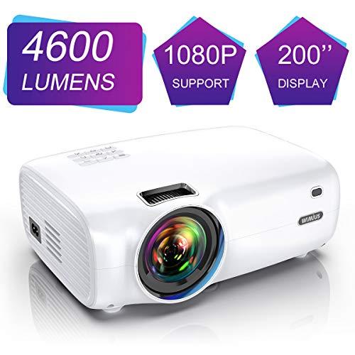 Videoproiettore Mini Proiettore Portatile Full HD LED 200 pollici