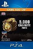 4,000 (+1,000 Bonus) Call of Duty Points [PS4 PSN Code - UK account]