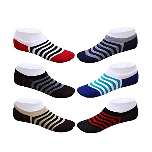 Delhitraderss-Unisex-Loafer-Socks-For-Men-and-Women-6-Pairs-Free-Delivery