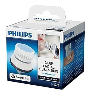 51t1YvnR4KL. SS300  - Philips-SH57550-Cepillo-de-limpieza-facial-color-blanco