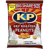 KP seco cacahuetes asados ??450g (paquete de 10 x 450 g)