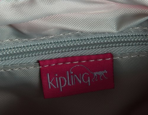 Kipling ALVAR K13335,Borsa a tracolla donna, 33 x 26 x 4 cm (L x A x P) Rosa (Verry Berry)