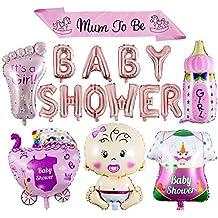 ZOEON Baby Shower Globos para Fiestas Infantiles, Globos de Papel de Aluminio Its a Boy