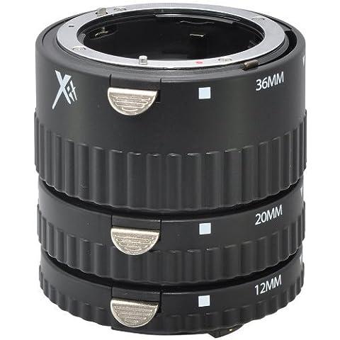 AAdigital - Set di tubo di estensione, funzione auto focus, DG macro, 12 mm, 20 (Kenko Auto Tubo Di Prolunga)