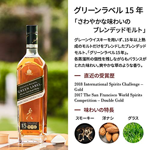 Zoom IMG-3 johnnie walker green label blended