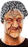 Hexe Oma Greisin alte Frau Maske Damenkostüm