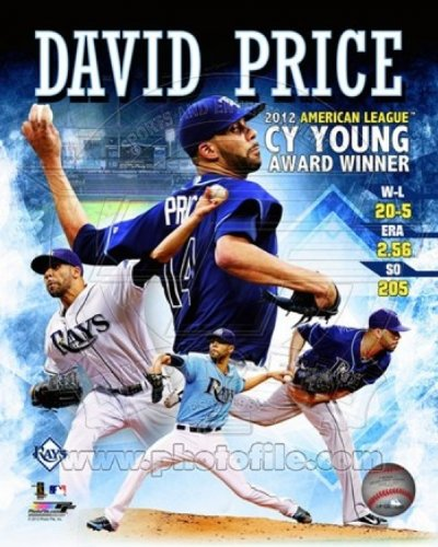 David Price 2012 American League Cy Young Award Winner Composite Photo Print (27,94 x 35,56 cm) (Award Cy Young)