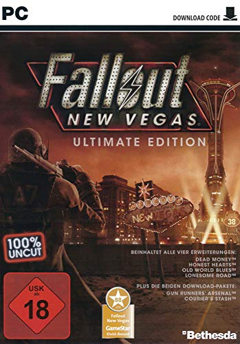 Fallout New Vegas - Ultimate Edition [Code in a Box] [PC] - Steam Fallout