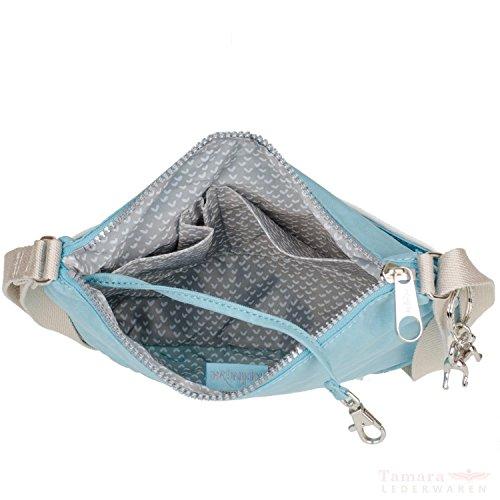 Kipling Croco Spring Zash CS bisaccia a tracolla 26 cm Starlight Blue