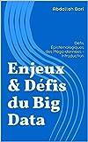 Telecharger Livres Enjeux Defis du Big Data Defis Epistemologiques des Mega donnees Introduction Chapitre 1 (PDF,EPUB,MOBI) gratuits en Francaise