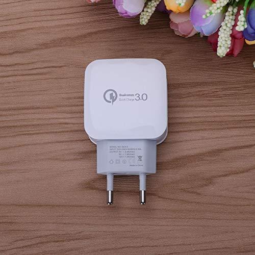 - Kongqiabona Power Adapter QC 3.0 Schnell Aufladeadapter Travel Home AC Stecker Telefon USB Ladegerät Handy Zubehör US Eu-stecker