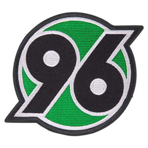 Hannover 96 Aufnäher, Patch, Aufbügler Logo groß H96 - Plus Lesezeichen I Love Hannover