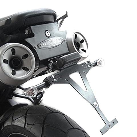 Kennzeichenhalter Yamaha MT-03 06-14 Highsider schwarz