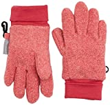 Sterntaler Mädchen Handschuhe Fingerhandschuh, Rot (Beerenrot Melange 747), 5