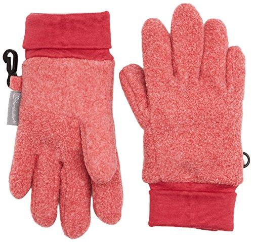 Handschuhe Fingerhandschuh, Rot (Beerenrot Melange 747), 5 (Mädchen Rot Handschuhe)