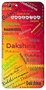 Dakshina (Popular Girl Name) Name & Sign Printed All over customize & Personalized!! Protective back cover for your Smart Phone : Moto G-4-PLAY