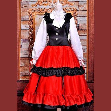 Ungarn Kostüm - APH Hetalia cosplay Kostüm Inspiriert von Ungarn Hetalia Elizaveta nationalen Kleid(Mailen Sie uns Ihre Größe),Größe XL:(170-175 CM)