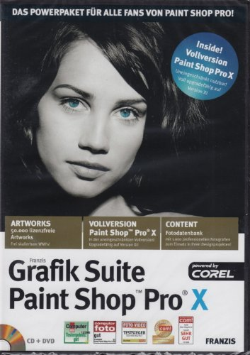 Grafiksuite Paint Shop Pro X Vollversion