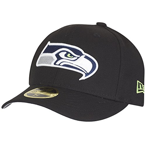 New Era 59Fifty LOW PROFILE Cap - Seattle Seahawks - 7 1/2 (Low-profile Baseball-hüte)