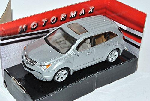 honda-acura-mdx-suv-silber-2-generation-2006-2013-1-43-motormax-modell-auto