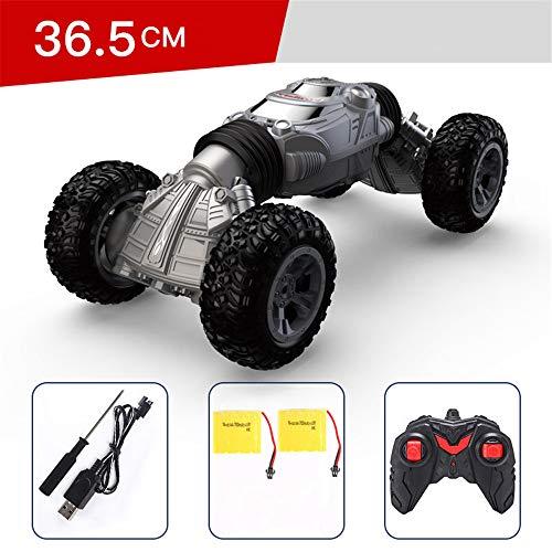 Jahre Jungen Amphibious Fernbedienung Auto für Kinder und Erwachsene 2,4 GHz RC Stunt Auto für Jungen Mädchen 4WD Off Road Monster Truck Geschenke,Gray ()