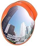 Xhz Xhz Verkehrs-Verkehrsspiegel Sicherheits konvexen Spiegel PC wasserdichte Anti-Diebstahl-blinder Punkt-Spiegel, Geeignet for Garage Parkplatz Supermarkt (Size : 80cm)