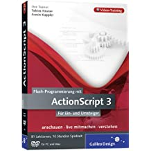 Flash-Programmierung mit ActionScript 3 - Das Video-Training auf DVD