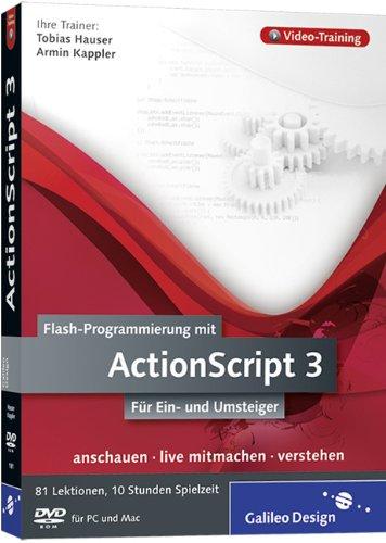 Preisvergleich Produktbild Flash-Programmierung mit ActionScript 3 - Das Video-Training auf DVD