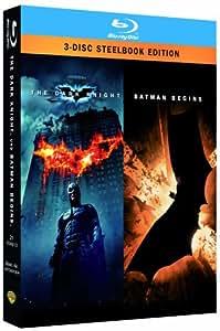 Batman - The Dark Knight/Batman Begins - Steelbook [Blu-ray]
