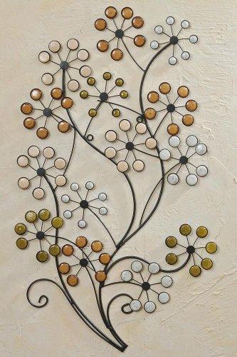 Wanddekoration Wanddeko Wand-Objekt *Strauch* - H 95cm