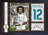 SGH SERVICES Poster Marcelo 12 Real Madrid, gerahmt, mit MDF-Rahmen