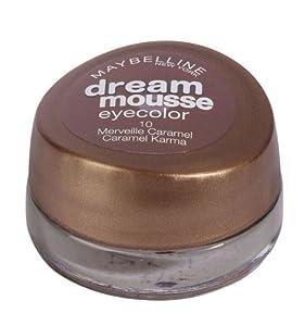 Maybelline 10 Caramel Karma Dream Mousse Eye Color Eyeshadow Pots 3.5g