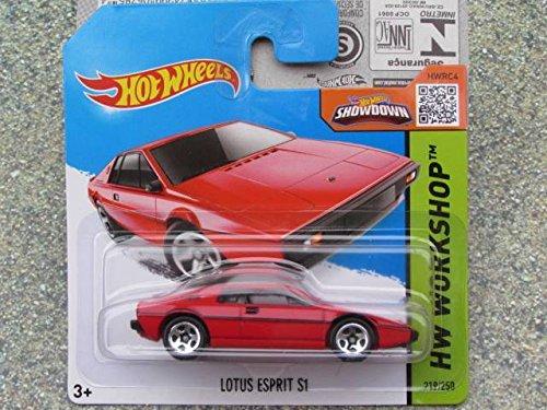 Hot Wheels 2015 #219/250 1976 LOTUS ESPRIT S1 RED (Short Card)