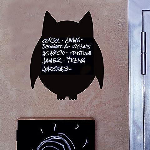 XIAOMINZI Generazione Di Lavagna Rimovibile Stickers Cartoon Owl Scuola Kindergarten Decorativi Murali Stickers , 58*70Cm