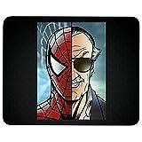 Tapis de souris en caoutchouc antidérapant Spiderman et Stan Lee pour ordinateur portable, ordinateur et PC,...