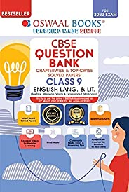 Oswaal CBSE Question Bank Class 9 English Language and Literature Book Chapterwise & Topicwise Includes Ob