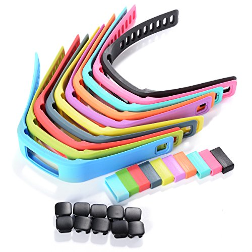 Xcsource 10pcs Silicone – Straps