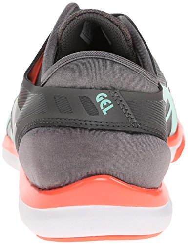 Asics Womens Gel Fit Nova Cross-Training Shoe Granite/Mint/Electric Melon