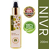 Nivr Ayurvedic Hair Growth Oil (200 ML) Specially Formulated With 6 Scalp Nourishing