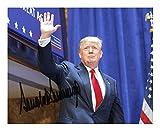 Donald Trump Signiert Autogramme 21cm x 29.7cm Plakat Foto