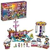 Lego Friends-Il Molo dei Divertimenti di Heartlake City con Olivia, Emma, Stephanie, Zack e Chloe, Set di Costruzioni per Bambini dagli 8 Anni, Multicolore, 41375