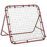 HOMCOM Rebounder Net Practise Soccer Kickback Target Goal Play Kids Adults Baseball Softball