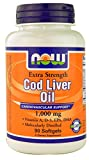 Best Now Foods Liver Supplements - Cod Liver Oil, Extra Strength, 1,000 mg, 90 Review